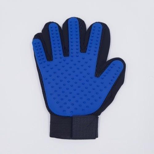 standaard vachverzorgingshandschoen blauw rechts
