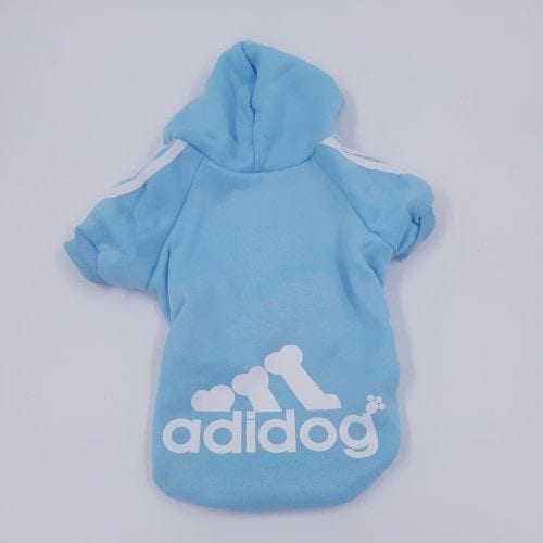 honden en katten hoodie lichtblauw