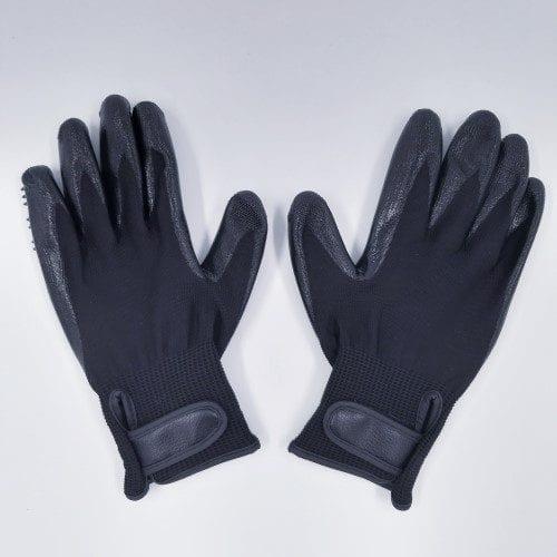 paar vachthandschoen luxe zwart