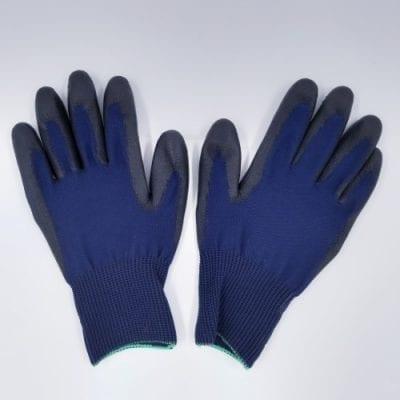 vachthandschoen donkerblauw paar