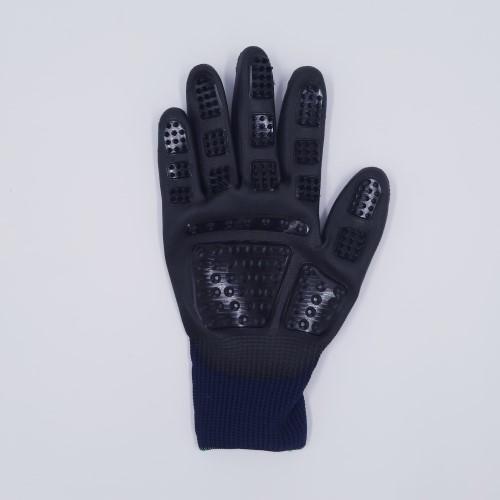 vachthandschoen donkerblauw rechts voor