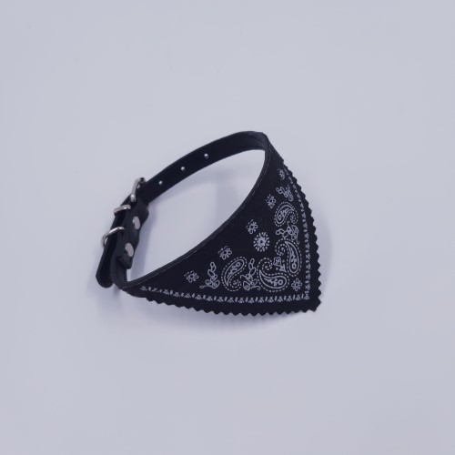 bandana zwart groot