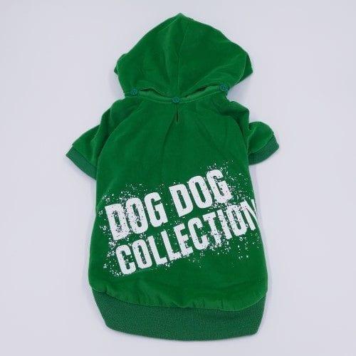 groene hoodie dogdog