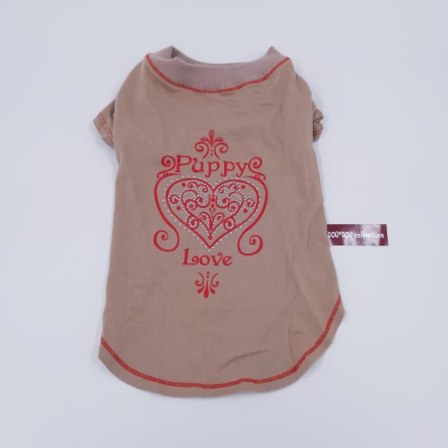 puppy love t-shirt rug