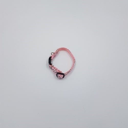 Lichtrose burberry halsbandje