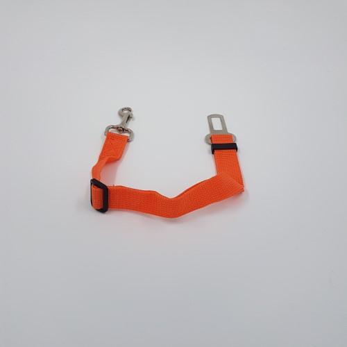 Oranje nylon vastclick lijn auto gordel