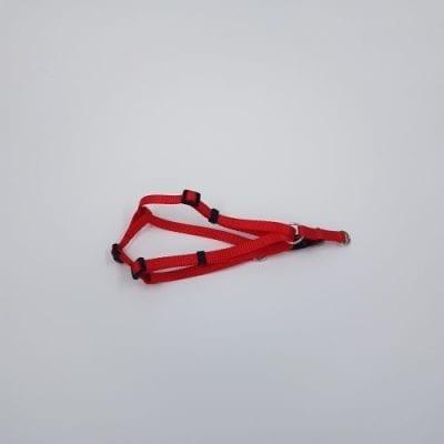 rood nylon harnas